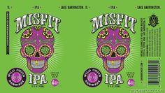 mybeerbuzz.com - Bringing Good Beers & Good People Together...: Wild Onion - Misfit IPA 12oz Cans