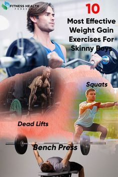 Are you a skinny guy? Do you want to gain weight & muscles naturally? If yes, then you don't have to worry as you're not the only one facing this situation. Weight Gain Workout, Lose Weight Running, Squats Fitness, Fitness Tips, Health Fitness, Muscle Weight, Body Weight, Weight Loss, Skinny Guys