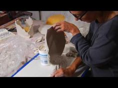Ann Agee creating a vase. Incredible!!! A must watch!!