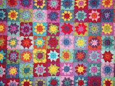 summer crochet blanket