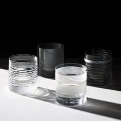 Dutch design duo Stefan Scholten and Carole Baijings design a modern glassware collection for Waterford crystal glass company J Hill's Standard.