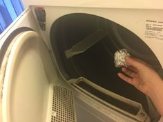Filling in for dryer sheets  Did you know a ball of foil will keep your clothes just as static-free as a dryer sheet? Of course, your foil isn't lavender-scented, but a ball of foil is a whole lot better than nothing.