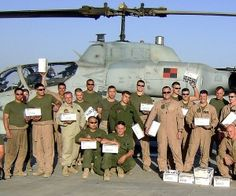 Operation Gratitude...you can do anything from send candy, beanie babies and even write letters.