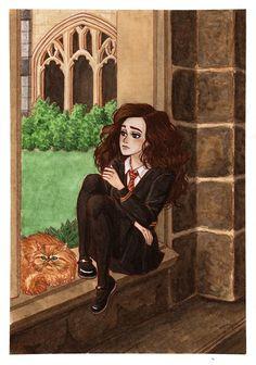Un mètre cinquante-trois: Hermione Granger