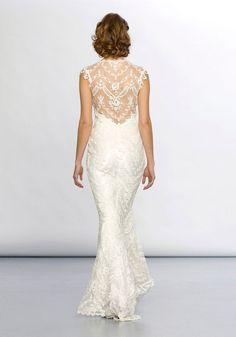 Gorgeous Claire Pettibone gown #bride #apparel (originally seen by @Fransiscavvj )