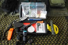 Special Ops Tactical Military Survival Kit