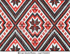 ukrainian ethnic pattern