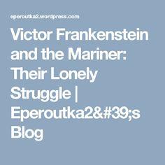 victor frankenstein essay