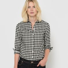 Discover our gorgeous collection of women's shirts. Whether you're after a crisp and casual denim shirt, block colour or a patterned print, you'll find it here Flannel Shirt, Denim Shirt, Blouse, Women Wear, Clothes For Women, Casual, Shirts, Collection, Styles