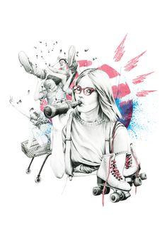 Illustration | Fashion | Ink