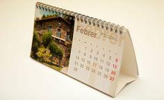 Plantilla de calendario de mesa 2015