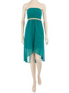 Jade embellished waist dress - Party Dresses - Dresses - Dorothy Perkins United States