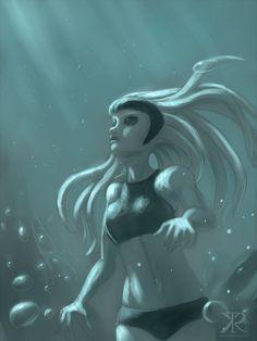 Deep Dive by Raikoh-illust.deviantart.com on @deviantART
