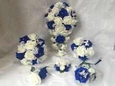 Image result for wedding flowers royal blue
