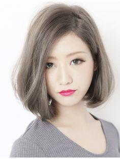 Girl Short Hair, Short Hair Cuts, Medium Hair Styles, Short Hair Styles, Korean Hair Color, A Line Haircut, Hair Reference, Aesthetic Hair, Love Hair