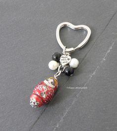 Schlüsselanhänger - Schlüsselanhänger Matroschka - ein Designerstück von Happy-about-pearls bei DaWanda