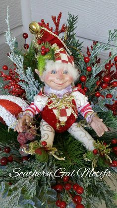9 Best Elf Decorations images  Elf decorations, Woodland elf