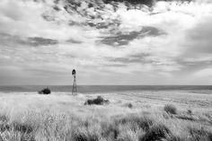Prairie Windmill - photograph by Allan Van Gasbeck fineartamerica.com #windmill #prairielands #farmcountry