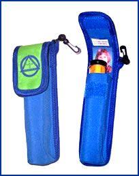 Single case pouch for epi-pen.