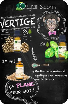 Recette DIY naturel vertige huiles essentielles Olyaris