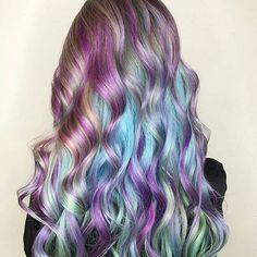 Amazing pastel unicorn hair by @bangbangbalayage! #hair #hairinspo #hairinspiration #haircolour #haircolor #hairstyles #hairstyle #hairlook #hairlove #mermaidhair #pastelhair #rainbowhair #unicornhair #beautifulhair #colorfulhair #longhair #hairofinstagram #hairoftheday #softwaves #festivalstyle #festivalready #festivalhair #bluehair #purplehair #pinkhair #hotd #peinados Featured by: #isaprofessional