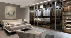 Bedroom furniture - bed, wardrobe, wardrobe sliding doors and accessories Zalf