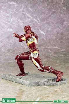 Captain America Civil War: Iron Man Mark 46 ARTFX+ Statue