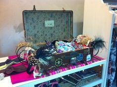 Flapper's suitcase
