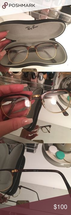 Ray Ban prescription glasses. In great condition! Ray-Ban Accessories Glasses