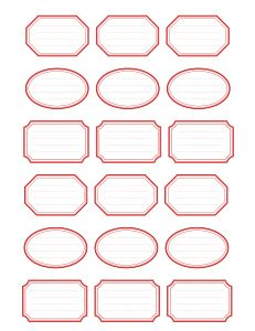 "Free Printable Vintage Gum Labels Hello everyone, today I bring you a sheet of printable gum labels. I left the background on the labels white so you can use manila card stock or paper for a more realistic look. These would be great for canning or ""handmade"" labels for your products. Now, some more …"