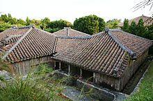 Okinawa traditional house