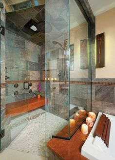 Ceramiche Tile & Stone - eclectic - bathroom tile - cincinnati - Housetrends Magazine