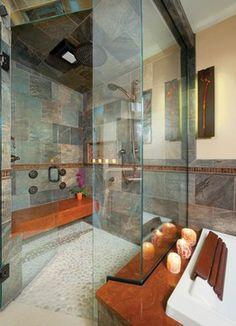 Ceramiche Tile & Stone - eclectic - bathroom tile - cincinnati - Housetrends Magazine
