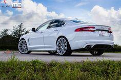 22 Inch Vellano Rims on White Jaguar XF - Photo by Vellano Jaguar Xf, Jaguar Cars, Custom Car Interior, Dirt Bike Girl, Military Discounts, Us Images, Custom Cars, Dream Cars, Sedans