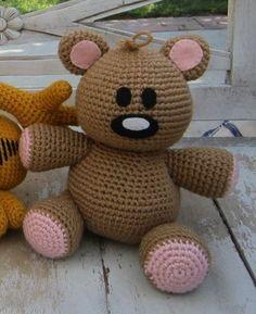crochet pattern - pookie bear -