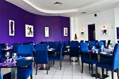 Purple Ocean Restaurant is conveniently located on Saint Michael's Pier, beside the Ferry Terminal and behind the Dart Station, Dublin.