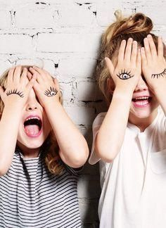 Open your eyes, laugh out loud, and let's have some fun together! fun creative kid photoshoot ideas