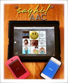 """Say Hi! AAC"" iPad Communication App"