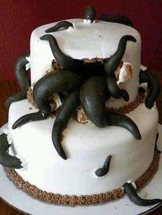 sea monster cake ideas - Google Search