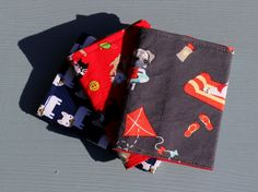 Card wallets 100% cotton in various dog and cat designs. by PuppyPawzBoutique on Etsy
