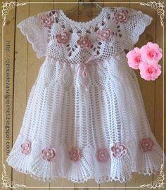 Delicadezas en crochet Gabriela: Vestido de princesa en crochet