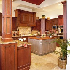 Idea House Kitchens | Tuscan kitchen | SouthernLiving.com