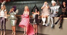 """Glee will get back to its flamboyant, highly theatrical roots when it returns on Nov. and the latest hits from Lady Gaga and Katy Perry will play a starring role. """"The episode is called 'A Katy or a Gaga' […] Glee Quinn, Glee Season 1, Lady Gaga Costume, Lady Gaga Outfits, Matthew Morrison, Quinn Fabray, Glee Club, Rachel Berry, Bad Romance"""