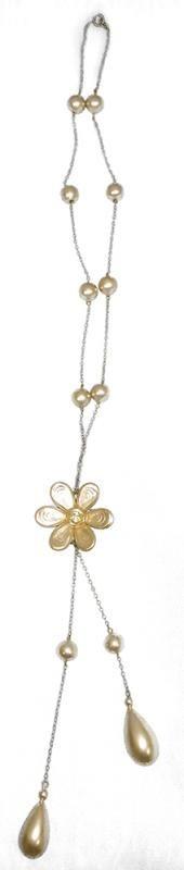 Margaret Schroeder's Floral Necklace - Current price: $50