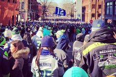 Seattle Seahawks Parade 2014