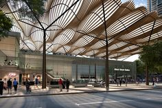 7 Young Tips AND Tricks: Canopy Outdoor Pergola Cover wooden canopy design. Parametric Architecture, Canopy Architecture, Architecture Awards, Landscape Architecture, Architecture Design, Backyard Canopy, Garden Canopy, Canopy Outdoor, Fabric Canopy