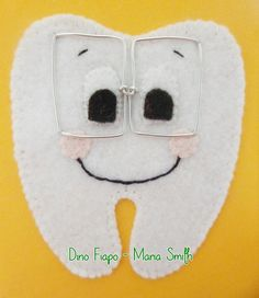 Aplique Dente com Óculos - Portfólio | Flickr – Compartilhamento de fotos!