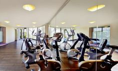Panoramic fitness area