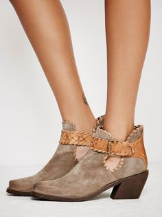 Walk The Line Ankle Boot