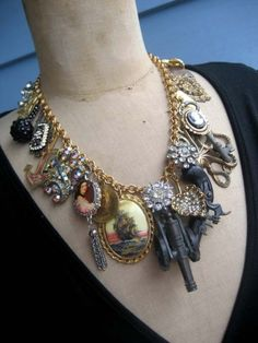Pirates of the Carribean! A true vintage statement necklace if ever i made one!!